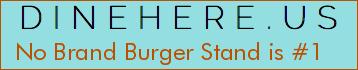 No Brand Burger Stand