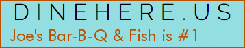 Joe's Bar-B-Q & Fish