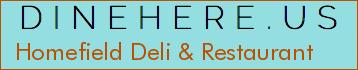 Homefield Deli & Restaurant