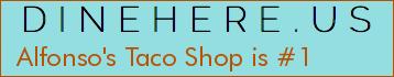 Alfonso's Taco Shop